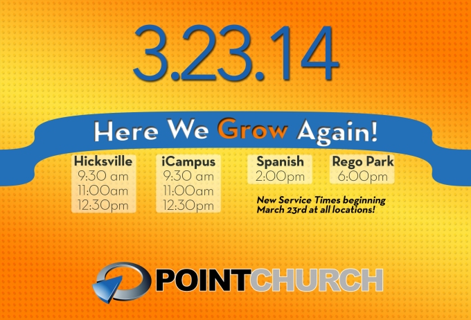 Here We Grow Again Point Church