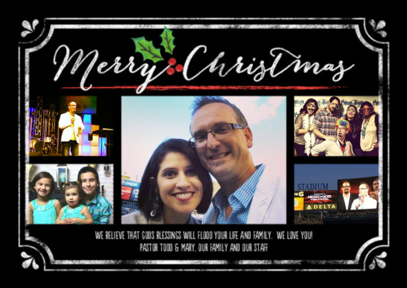 Merry Christmas from Todd & Mary Bishop