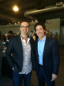 Todd Bishop & Joel Osteen