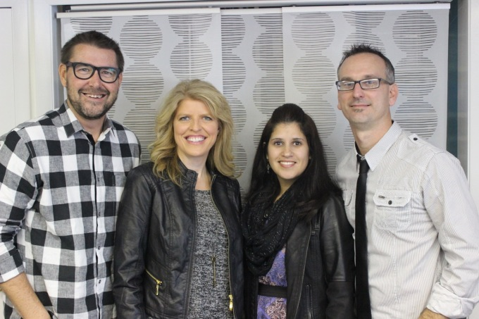 Mark & Lora Batterson with Todd & Mary Bishop