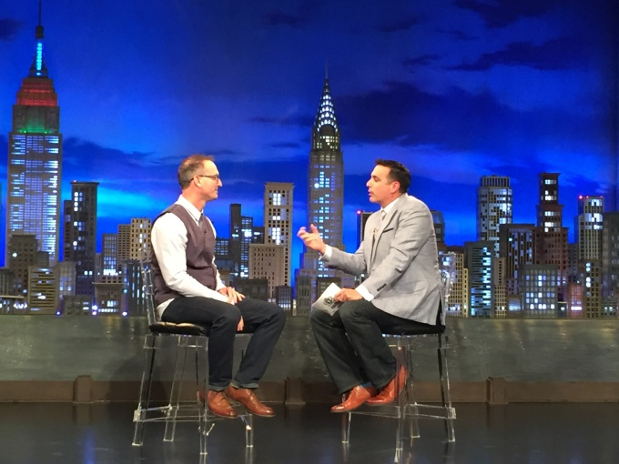 Todd Bishop TBN with Frank Santora